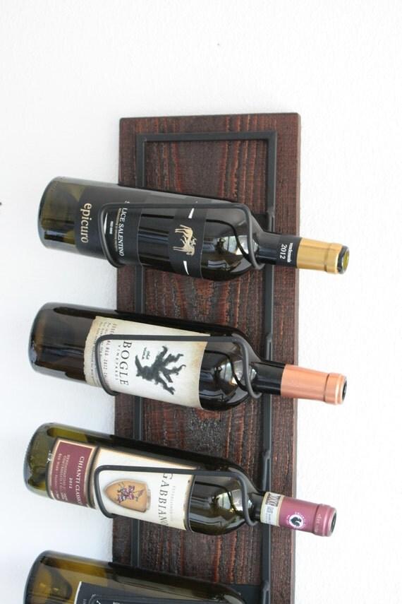 Wedding Gift Wine Rack | Wall Mounted Wine Rack | Rustic Wine Rack | Wooden Wine Rack | Handmade Wine Rack | Gift