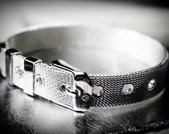 BDSM jewelry silver bracelet cuff submissive dominant fetish handcuffs lock birthday wedding anniversary gift man woman industrial grunge