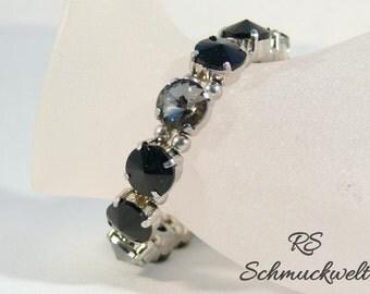 Sparkling bracelet, Crystal bracelet, vintage bracelet, rhinestone Cuff Bracelet, Bling bracelet, wedding bracelet, bridesmaid bracelet