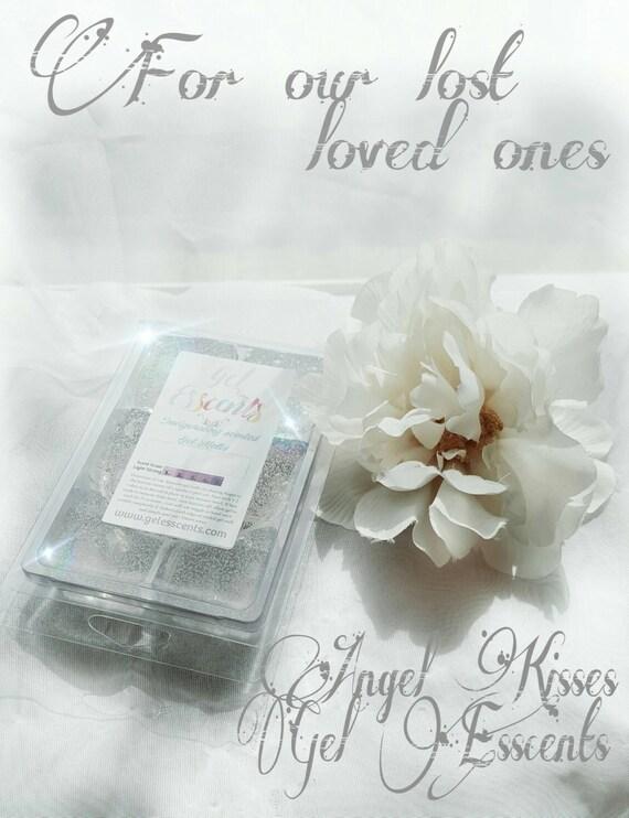 2 PACK! Angel Kisses scented gel wax melt