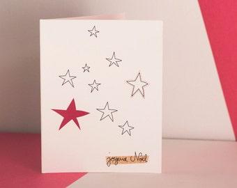 Small stars - folded map