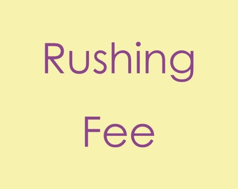 Rushing Fee