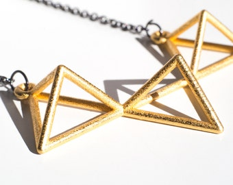 Tetrahedron Pendant by Alminty3D