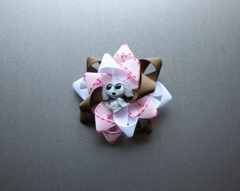 Go Dog Go themed bow