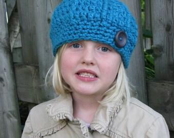 Girl's cloche hat