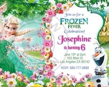 Frozen Fever invitation