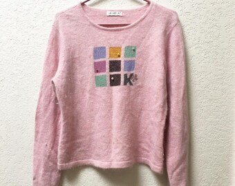 Pink Japanese Sweater