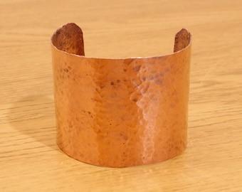 Copper bracelet / cuff || vintage || handmade