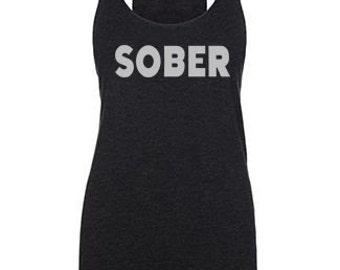 sober pregnancy tank