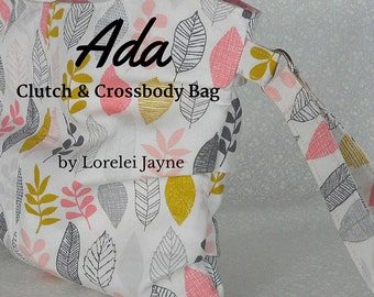 Ada Clutch and Crossbody Bag PDF Sewing Pattern