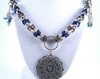 Pendant Chainmaille Necklace