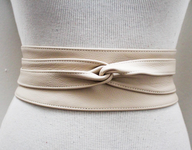 leather obi belt waist belt obi belt leather belt