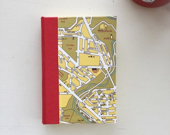 Washington DC Map Journal, Small, Lined