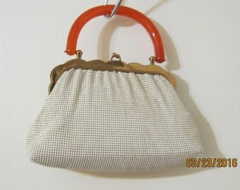 WHITING And DAVIS MESH Evening Bag Or Purse