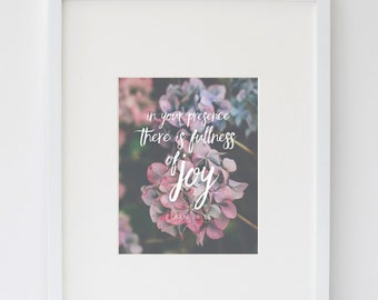 In Your Presence Print