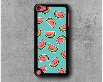 iPod Touch 5 Case Blue Watermelons