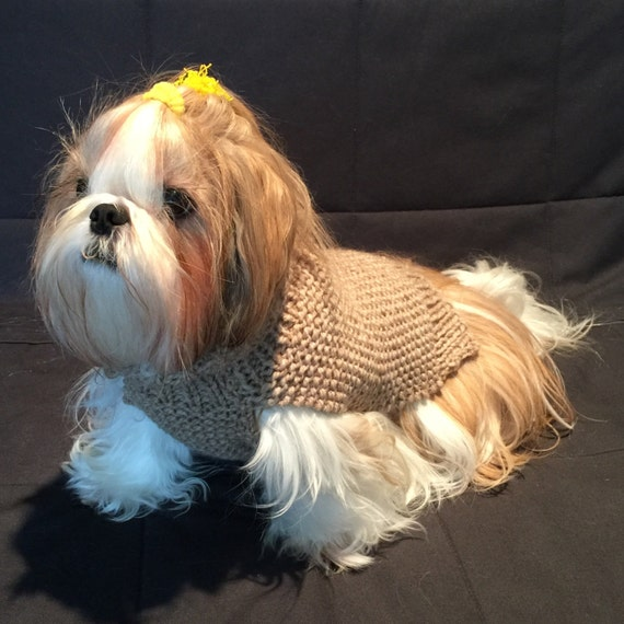 Dog Turtleneck Knitting Pattern : Dog turtleneck sweater PDF knitting pattern