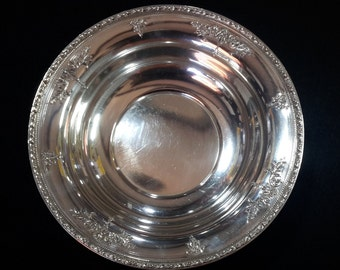 """Sterling silver bowl by Watson Silver Co..#96,9,and is 9.75"""" wide"""