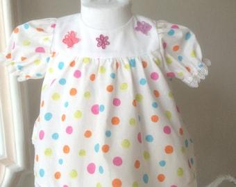 Coprifasce rainbow polka dots size 62 cm 3 months