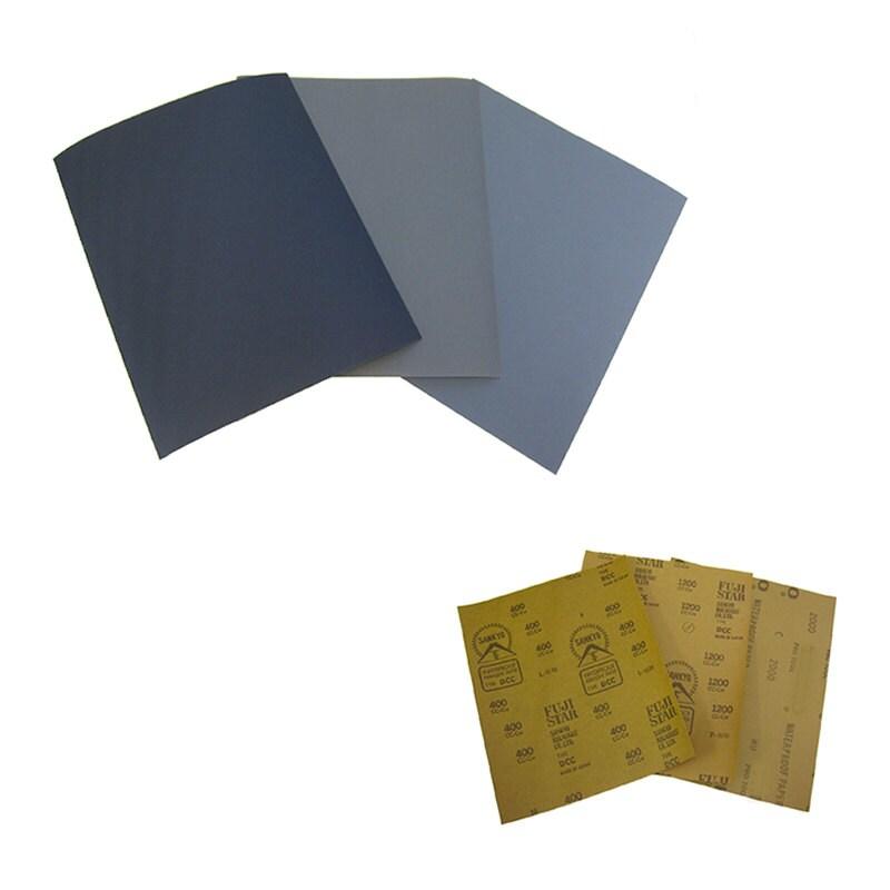 japan made waterproof abrasive sandpaper grit400 1200 2000 for kintsugi repair 3pc from. Black Bedroom Furniture Sets. Home Design Ideas