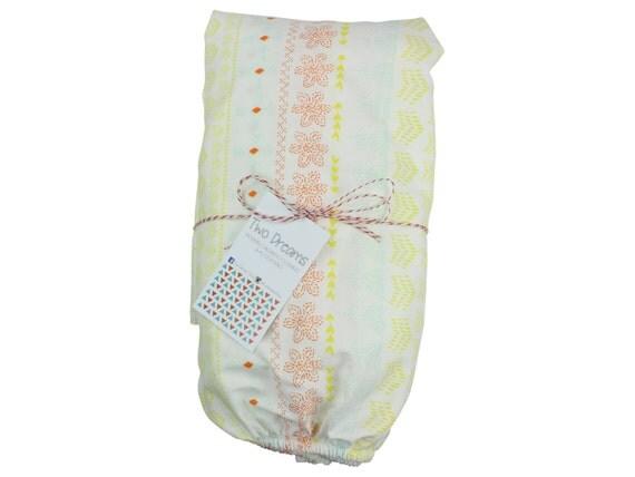 Tribal Floral Crib Sheet Cotton Changing Pad Cover Baby Crib Sheet Floral Crib Sheet Tribal Contoured Changing Pad Cover Girl Crib Sheet