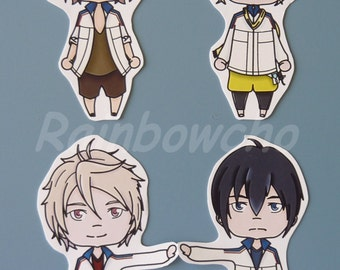 4 stickers Prince of Stride