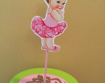 Ballerina baby shower centerpiece, Baby Shower Centerpiece, Baby girl Centerpiece