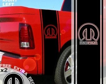 Dodge Ram Truck Ram Head HEMI 5.7 Liters by ShatterraDecals