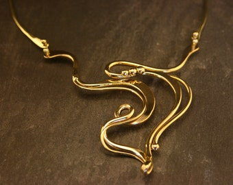 Aqua Flow Necklace