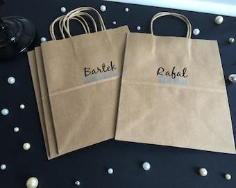 Wedding Party Gift Bag, Groomsmen Gift, Wedding Party Gift, Thank You Gift Bag, Groomsmen Gift Bag