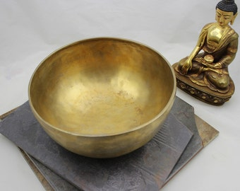 8 1/2 inch singing bowl Ab4 420hz
