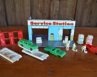 Service Station Playset