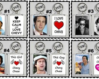 Chevy Chase Keychain Key Ring - Many Designs To Choose From