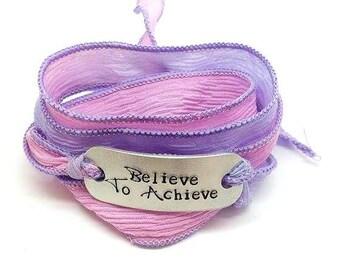 Silk Wrap Bracelet - Believe To Achieve