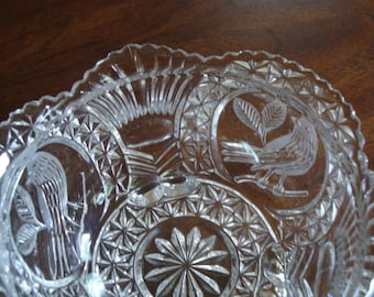 Hofbauer Germany THE BYRDES COLLECTION Three Double Toed Bowl!