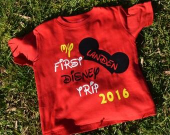 My First Disney Shirt