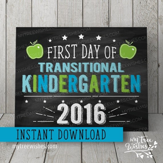 This is a photo of Smart Free Printable First Day of School Signs 2020-2020