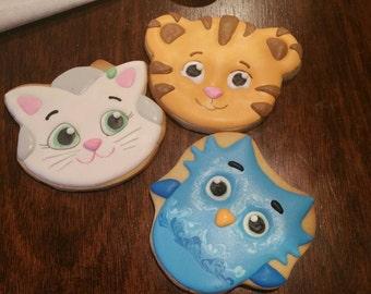 Daniel tiger cookies