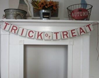 Halloween Trick or Treat Halloween Banner