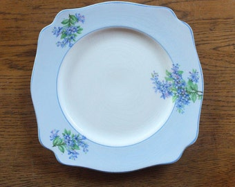 Beautiful old Royal Staffordshire porcelain plate ~ A J Wilkinson Ltd ~ Made in England ~ wedding mismatched china