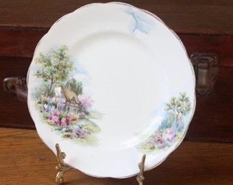 Vintage bone china side plate Royal Mayfair