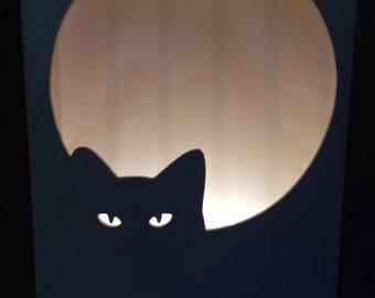 Night lamp Cat