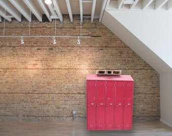 Industrial Furniture/ Lockers / Welded Style /True Red