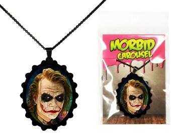 Joker Portrait - Batman Necklace