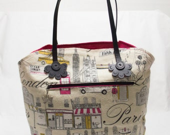 Travel Inspired Tote