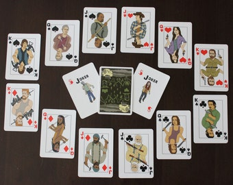 "NEW ""The Walking Dead"" Playing Cards - 54 Card Deck - Great Gift TWD"