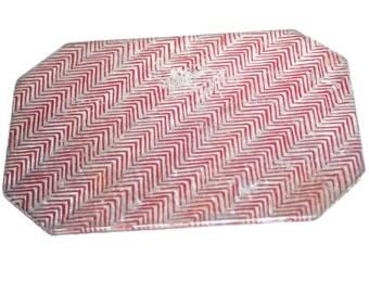 Vintage Foil Trivet, Hot Pad, Kitchen Decor, Counter Decor, Trivet, Kitchen Hot Pad, Foil Hot Pad, Foil Trivet, Vintage Kitchen, Home Decor