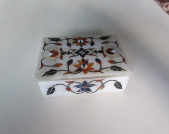 ITALY MOSAIC BOX with Lid