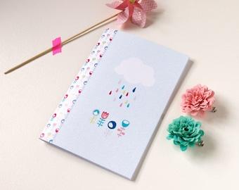Book 'Spring' / Notebook 'Spring' - original designs - colorful illustration - creation © GingerEnMai