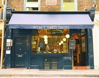 London Photography, London Wall Art, Neal's Yard Dairy, Cheese Shop, Kitchen Decor, Travel Photography, Fine Art Photo, Kitchen Wall Art
